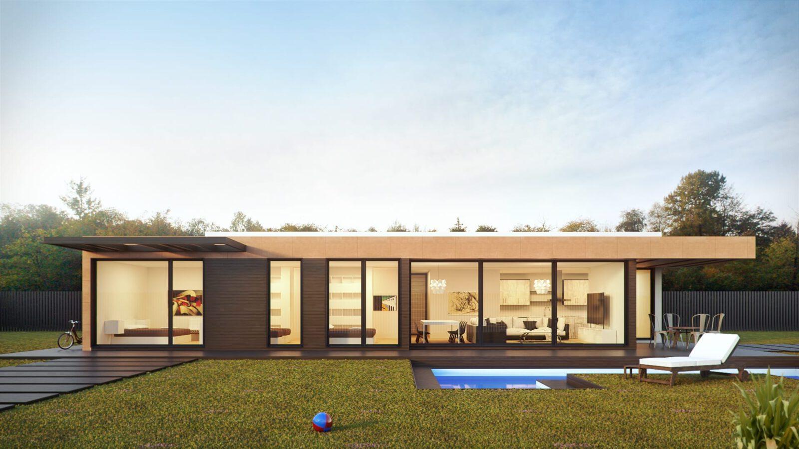 Immobilie-Außen